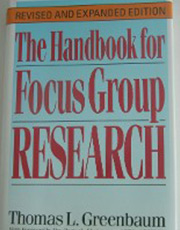 The Handbook for Focus Group Research Book Cover