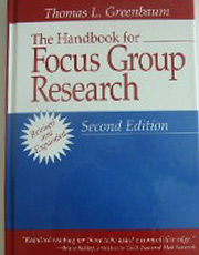 The Handbook for Focus Group Research, Second Edition, Book Cover