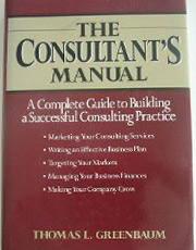 The Consultant's Manual Book Cover
